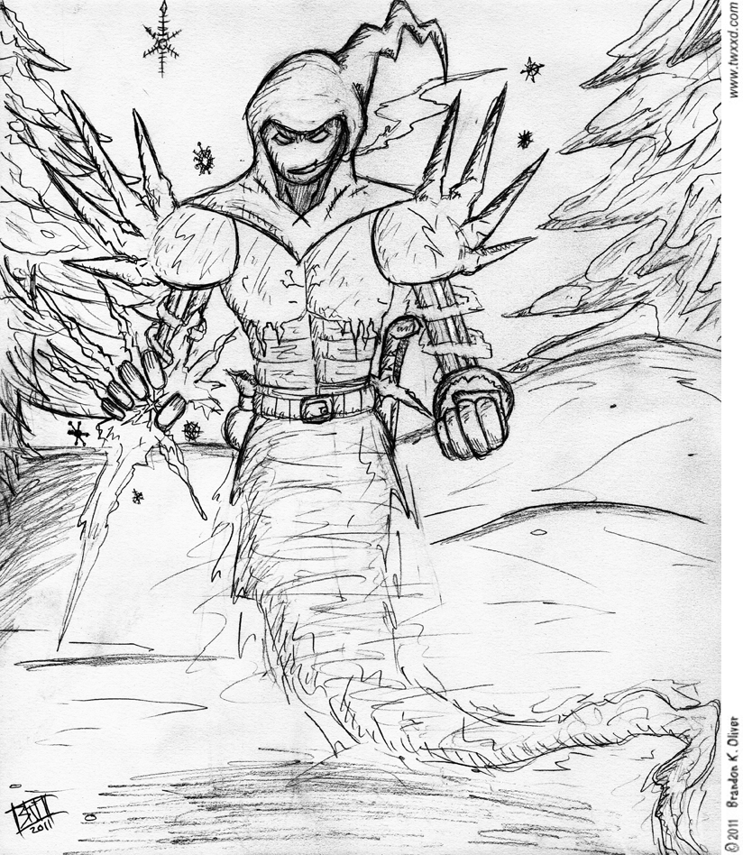 Christmas 2011 Sketch: Epic Jack Frost