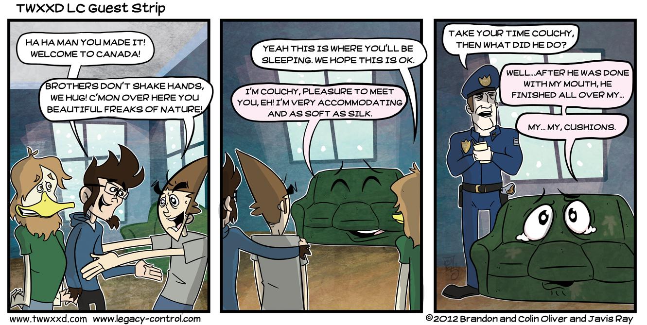 Guest Strip: Legacy Control
