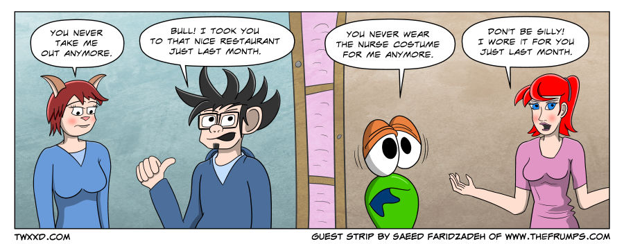 Guest Strip: Contrast